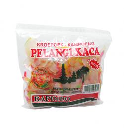 RAPINDO Pelangi Kaca Dorf Cracker, 250 g