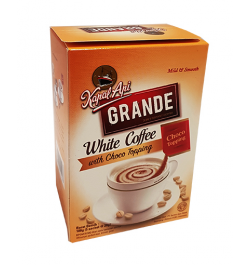 KAPAL API, Kaffeepulver Grande White Coffee mit Schoko, 5x20g