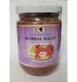 CAP IBU, Chilipaste Bajak Hot 250 gr