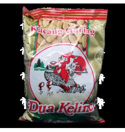 DUA KELINCI, Kacang Kulit Garing, 250gr