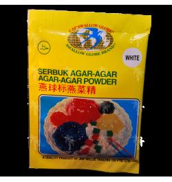 SWALLOW GLOBE Agar-Agar Pulver Weißerfarbe 12 g