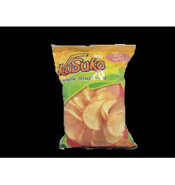 KUSUKA, Cassava Chips mit Bali Spicy Geschmack, 200gr