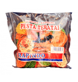 RAPINDO Dorf Crackers Pesta Teratai, 250 g
