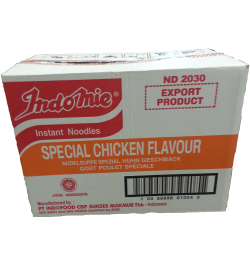 INDOMIE, Nudeln mit Hähnchen Spesial, 1 Packung, 40x75 g