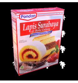 PONDAN, Lapis Surabaya & Bolu Gulung, 400 g