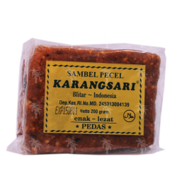 KARANGSARI, Sambal Pecel Pedas, 200 g