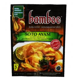 BAMBOE Indonesische gelbe Hähnchensuppe (SotoAyam) 40 g
