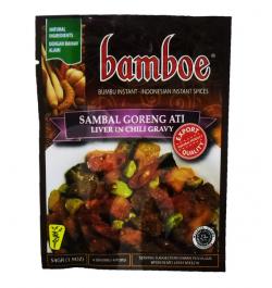 BAMBOE, Rinderleber in Chili, 54 g